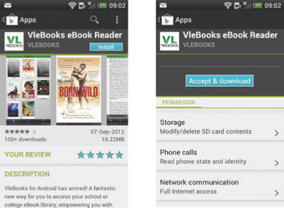 Downloading To Your Android OS Device